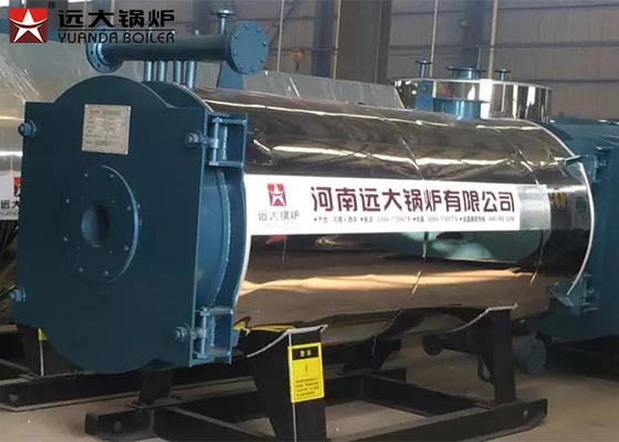 Steel Cover Material Thermal Oil Heater Boiler / Oil Fired Heating Boilers