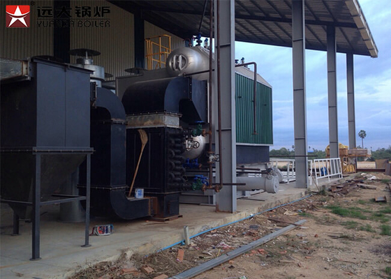 Biomass Anti Fouling 40t 3.6MPa Wood Fired Steam Boiler